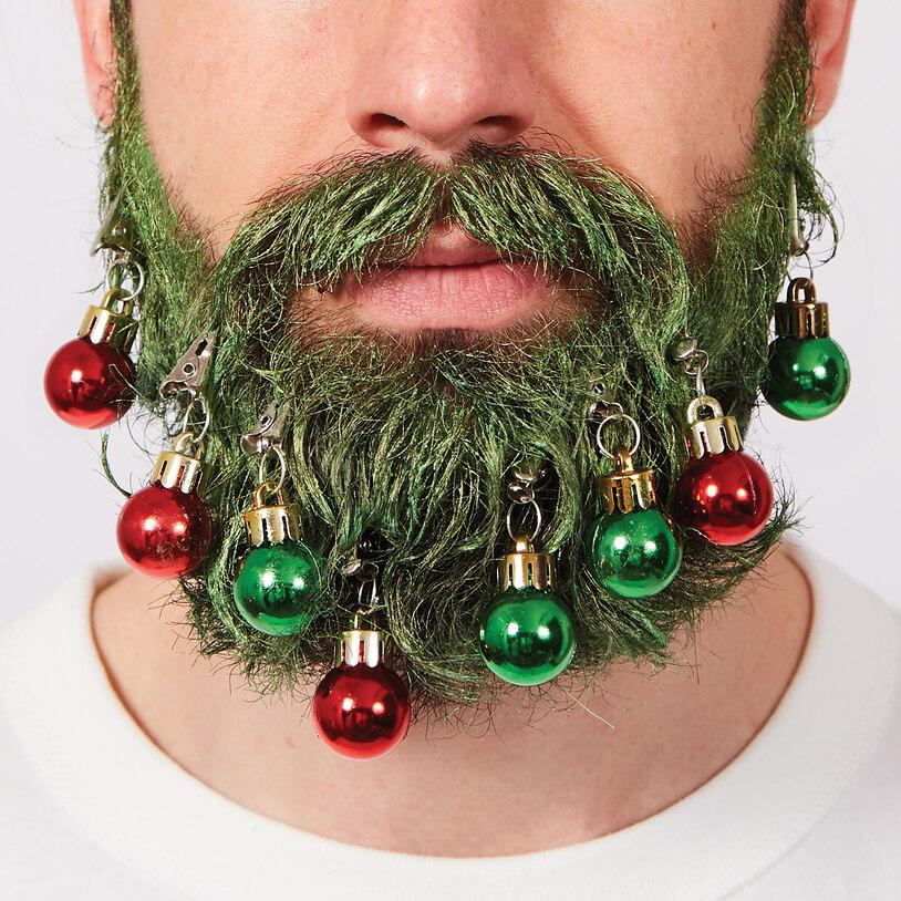 Skæg Kit - Juletræ med Julekugler