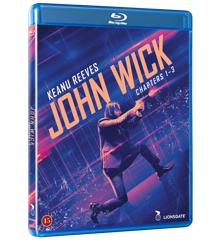 John Wick 1-3 komplet boks.
