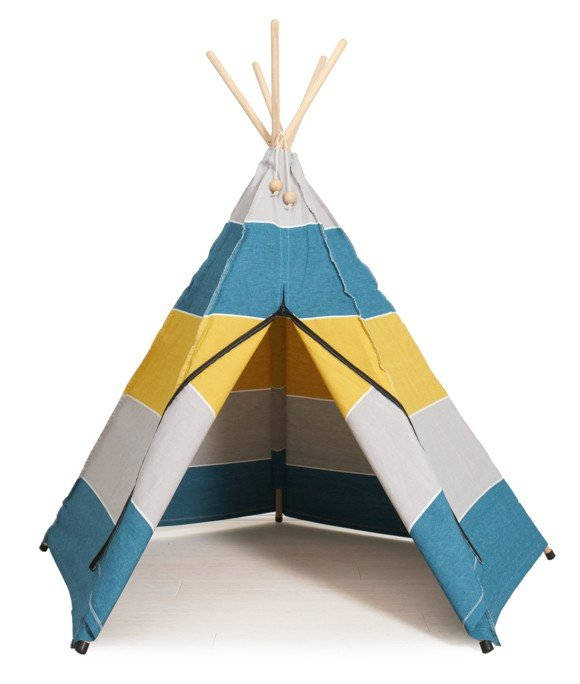 Roommate - Play Tent Hippie Tipi - Petrol (12910)