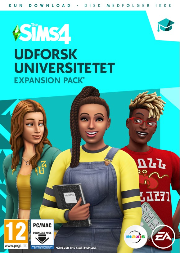 The Sims 4 (EP8) (DA) Udforsk Universitetet