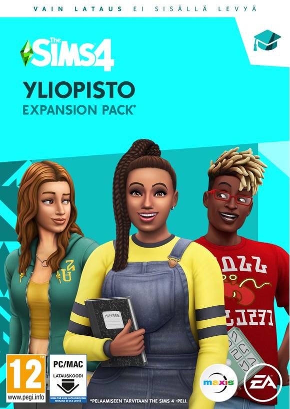 The Sims 4 (EP8) (FI) Yliopisto