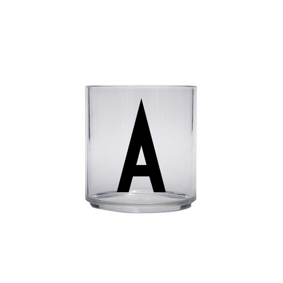 ​Design Letters - Kids Tritan Personal Drinking Glass​​ - A