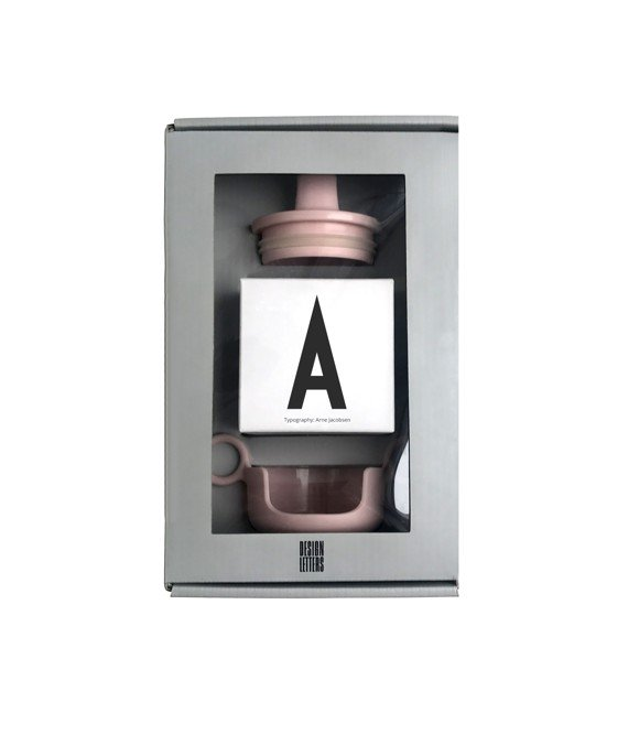 Design Letters - Grow With Your Cup Gaveæske A - Pink