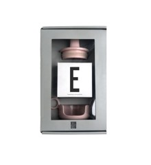 Design Letters - Grow With Your Cup Gaveæske E - Pink