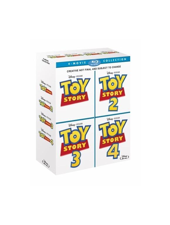Toy Story 1-4 (Blu-ray)
