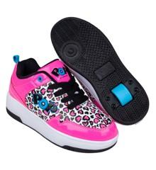 Heelys POP Shoes - Neon Pink (size 32) (POP-G1W-0057)