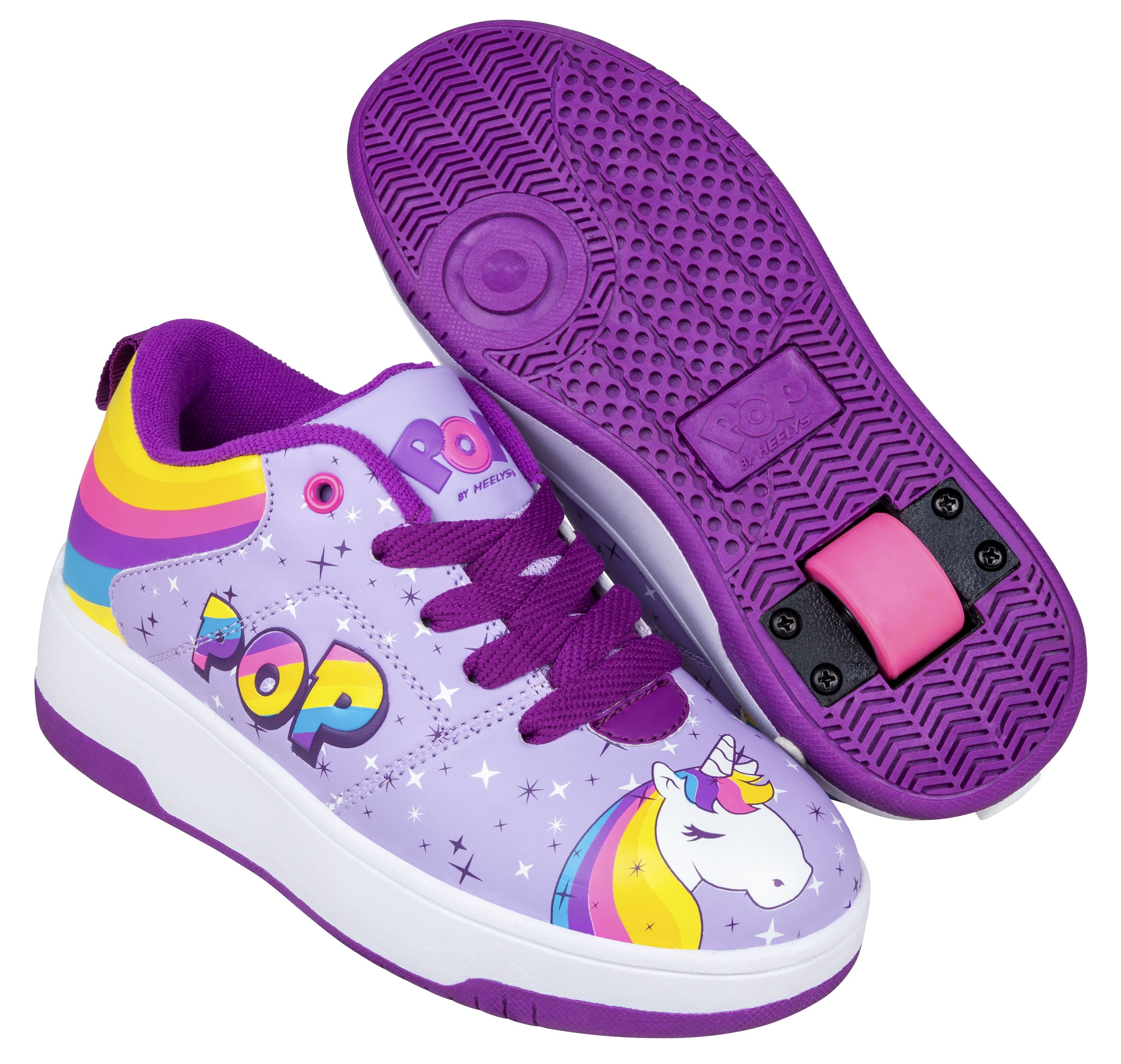 Heelys - POP Shoes - Purple (Size 32) (POP-G1W-0063)