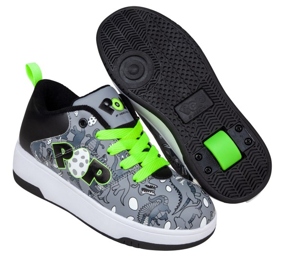 Heelys - POP Shoes - Charcoal (size 31) (POP-B1W-0080)