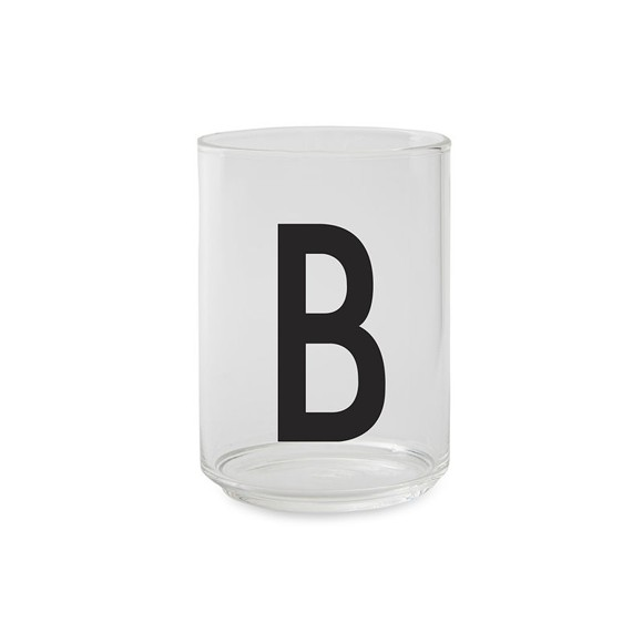 Design Letters - Kids Tritan Personal Drinking Glass - B