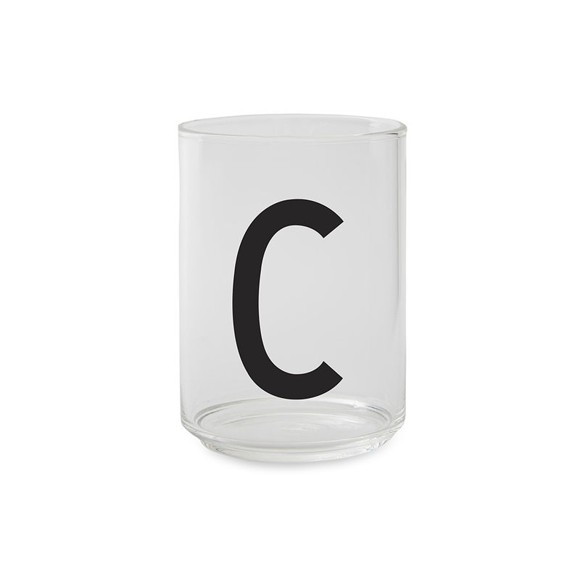 Design Letters - Kids Tritan Personal Drinking Glass​​ - C