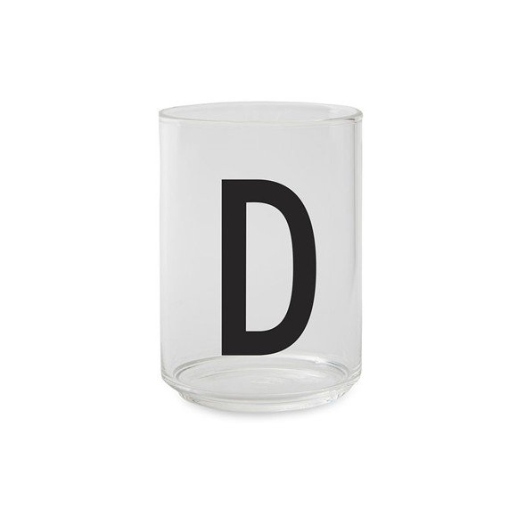 Design Letters - Kids Tritan Personal Drinking Glass - D