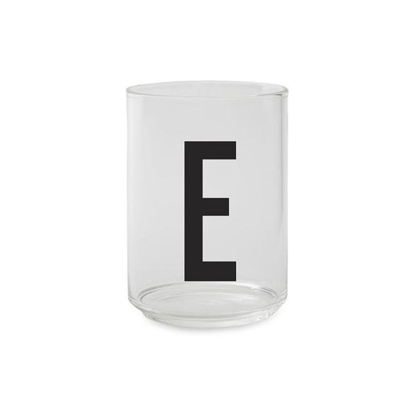 Design Letters - Kids Tritan Personal Drinking Glass - E
