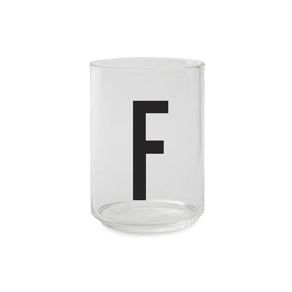 Design Letters - Kids Tritan Personal Drinking Glass - F