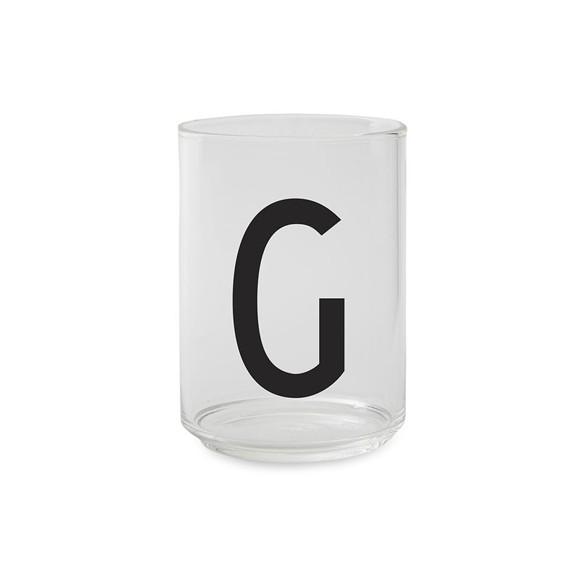 Design Letters - Kids Tritan Personal Drinking Glass - G