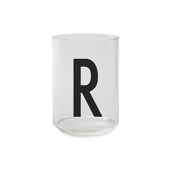 Design Letters - Kids Tritan Personal Drinking Glass - R