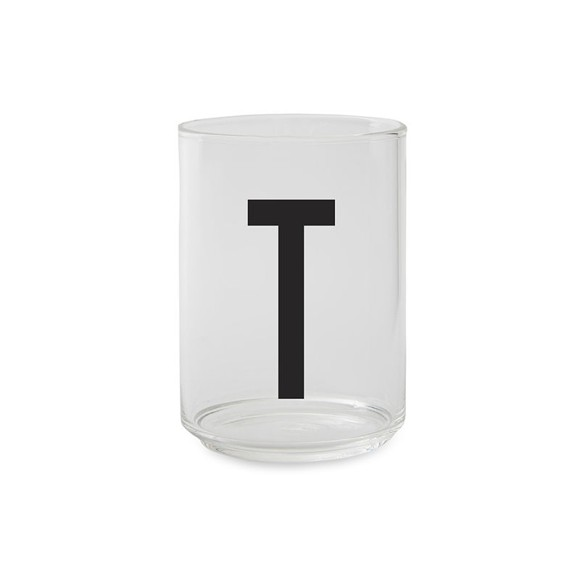 ​Design Letters - Kids Tritan Personal Drinking Glass​​ - T
