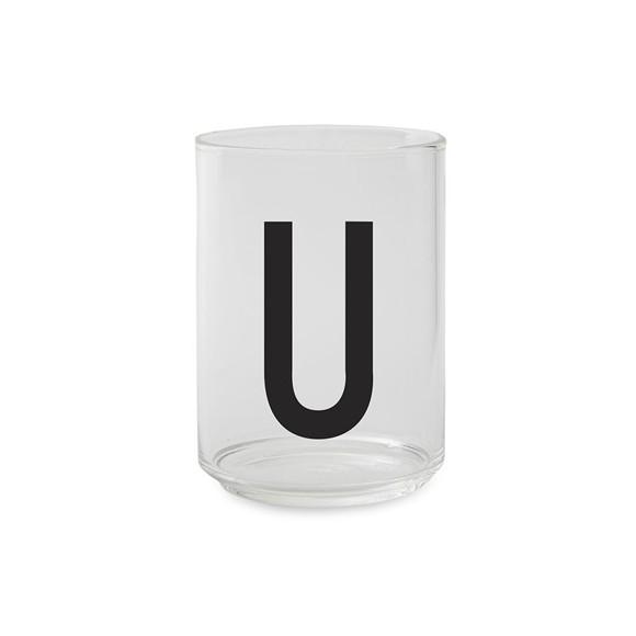 Design Letters - Kids Tritan Personal Drinking Glass - U