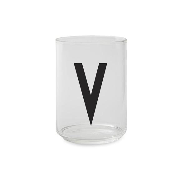Design Letters - Kids Tritan Personal Drinking Glass - V