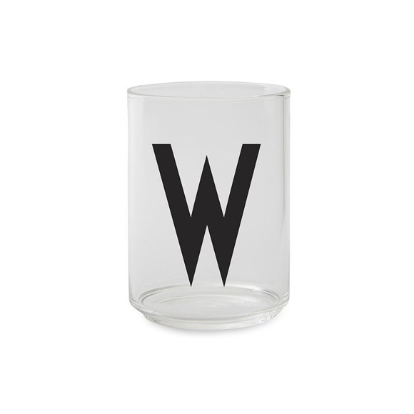 ​Design Letters - Kids Tritan Personal Drinking Glass​​ - W