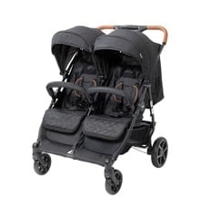 Babytrold - OS2 Twin Pushchair - Black