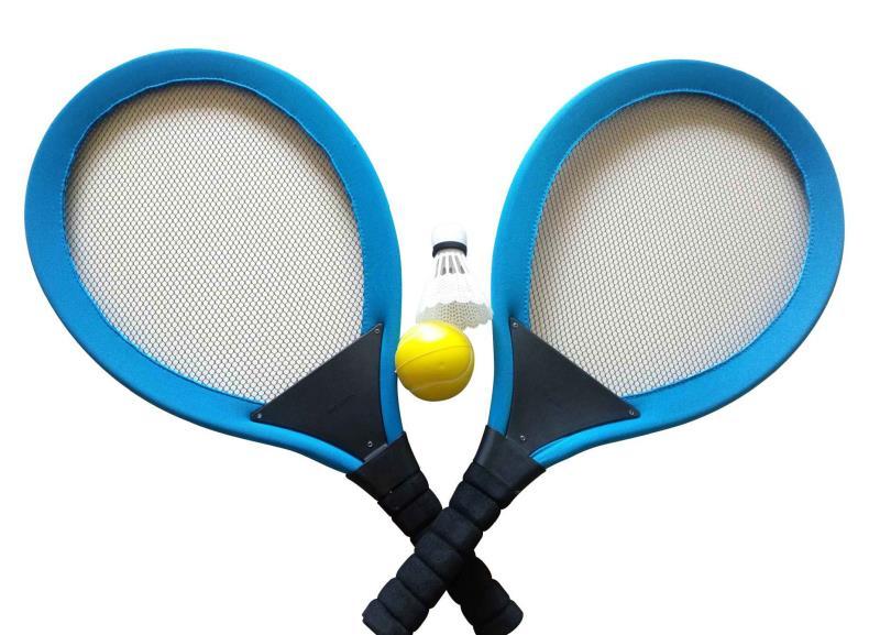 Playfun - 2 in 1 Soft Racket Set (8395)