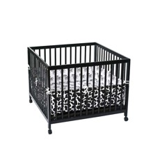 Babytrold - Play Pen 80 x 80 cm - Black