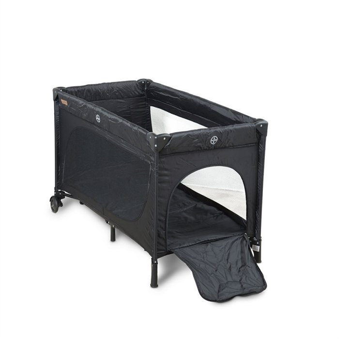 Babytrold Travel Cot Black