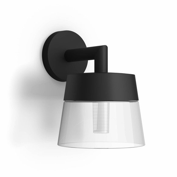 Philips Hue - Attract Wall Light - Hue Outdoor - White & Color Ambiance