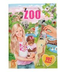 Create Your - Zoo Klistermærke Bog