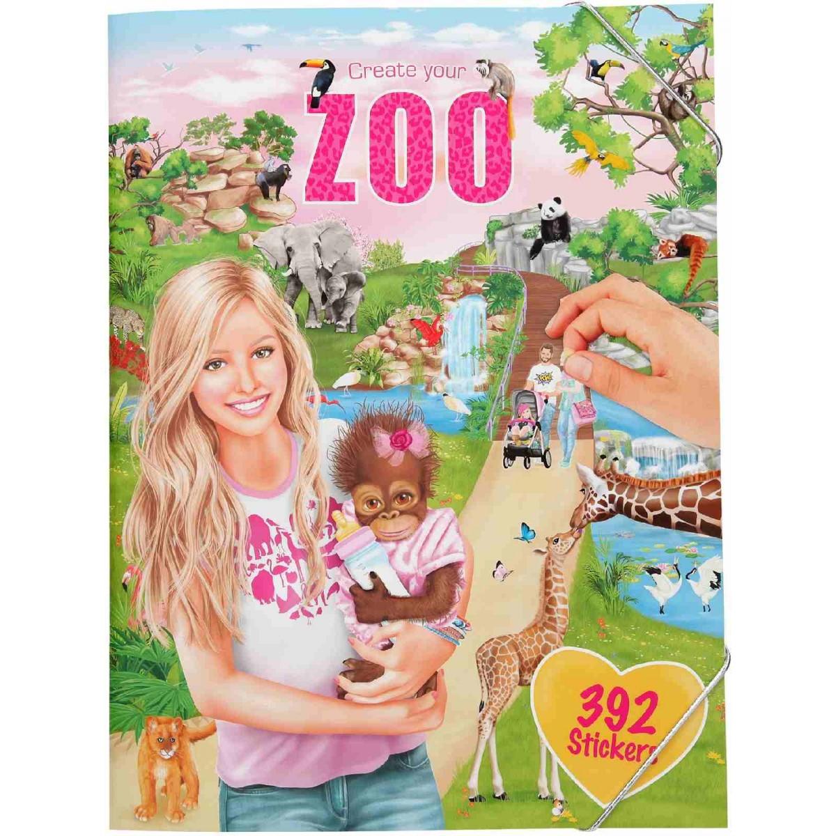 Create Your - Zoo Sticker Book (0410746)