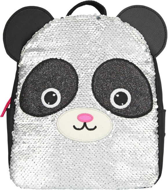 Snukis - Small Back Pack w/Sequins - Panda (0410794)
