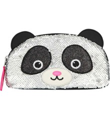 Snukis - Pencil Case w/Sequins - Panda (0410927)