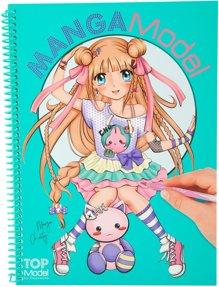 Top Model - Manga Colouring Book (048516)