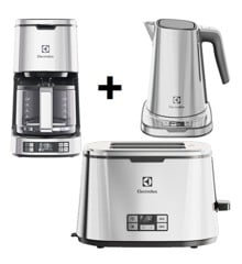 ​Electrolux - Coffee Machine + kettle + Toaster​ Bundle