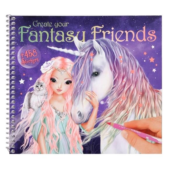 Top Model - Fantasy Friend Design Book w/Stickers (410617)