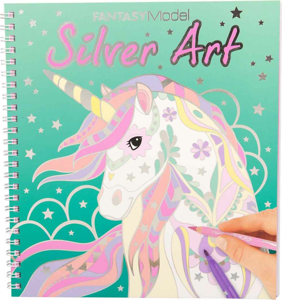 "Top Model - Fantasy ""Silver Art"" Design Book (410622)"