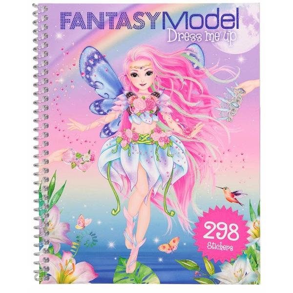 Top Model - Fantasy - Dress Me Up Sticker Book (0410955)