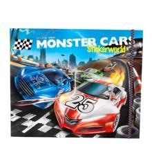 Monster Cars - Klistermærke Bog