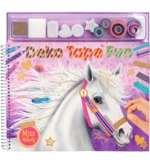 Miss Melody - Deko Fun Tape Colouring Book (0410470)