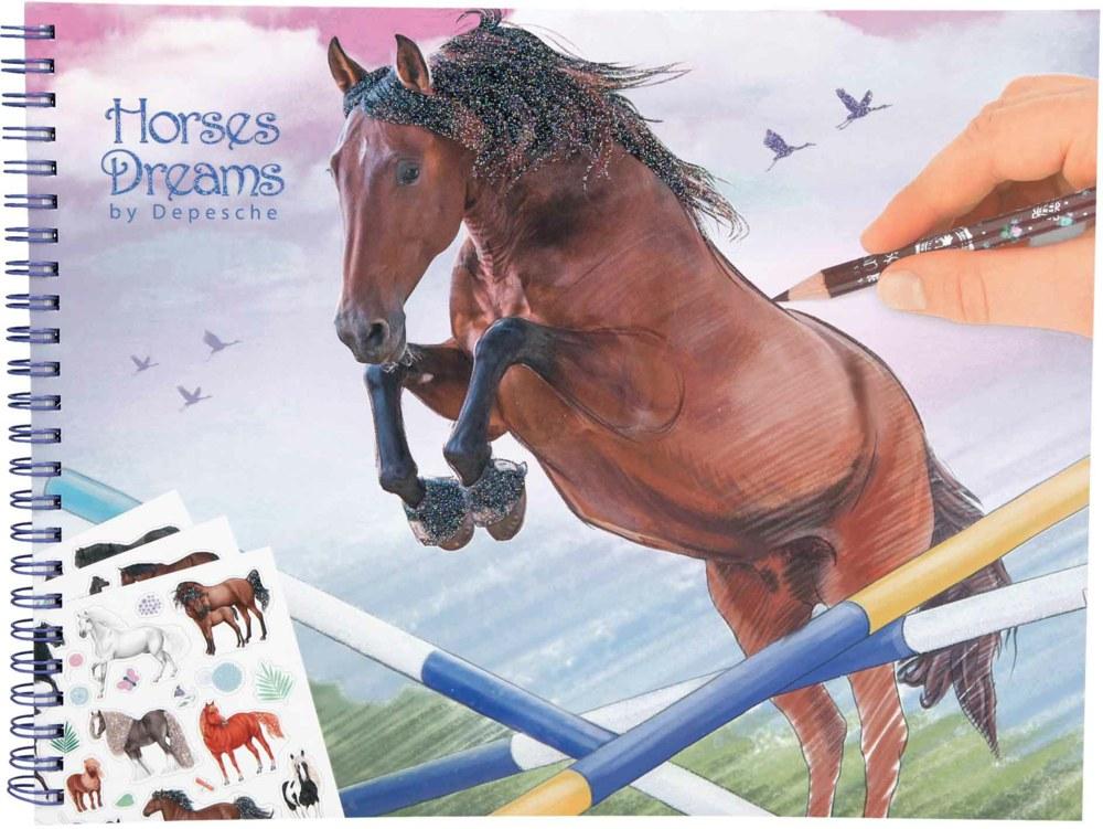 Horses Dreams - Colouring Book (0410295)