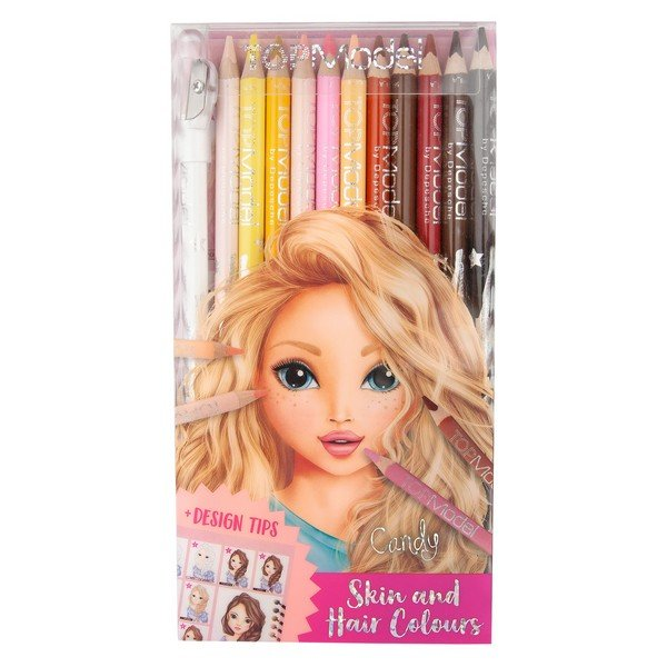 Top Model - Skin and Hair Colours Pencils (045678)