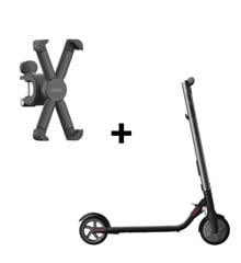 Segway - ES1 - Ninebot & Segway - Phone Holder T-Ninebot - Bundle