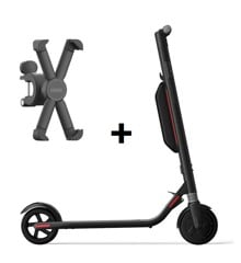 Segway - ES4 - Ninebot & Segway - Phone Holder T-Ninebot - Bundle