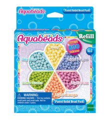 Aquabeads - Pastel Solid Bead Pack (31630)