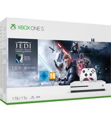 Xbox One S 1TB Star Wars Fallen Jedi Order Bundle (EU)