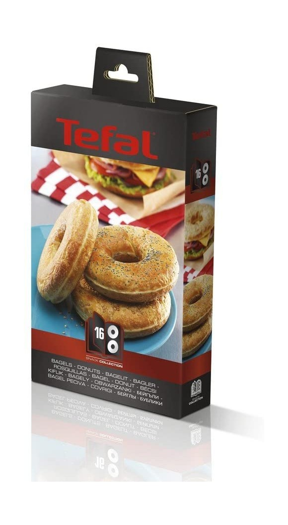 Tefal - Snack Collection - Box 16 - Bagels/Donut Set (XA801612)