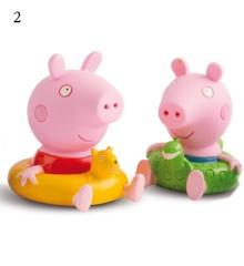Peppa Pig - Bath Figures - Peppa & George