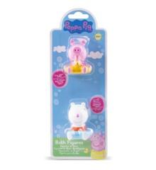 Peppa Pig - Bath Figures - Peppa & Suzy