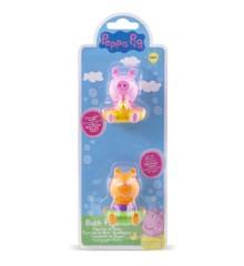 Peppa Pig - Bath Figures - Peppa & Candy