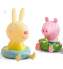 Peppa Pig - Bath Figures - George & Richard